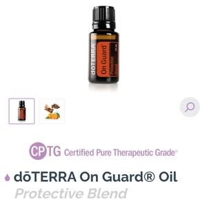 DoTerra On guard essential oil.
